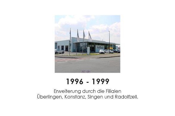 1996 - 1999 finally